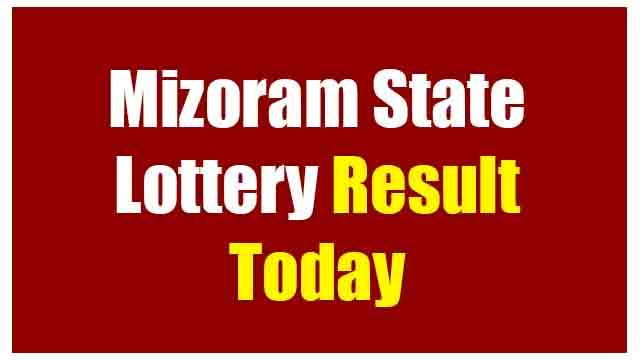 mizoram state lottery result